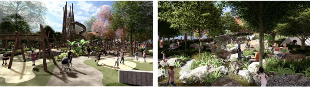 hinterland playground plans